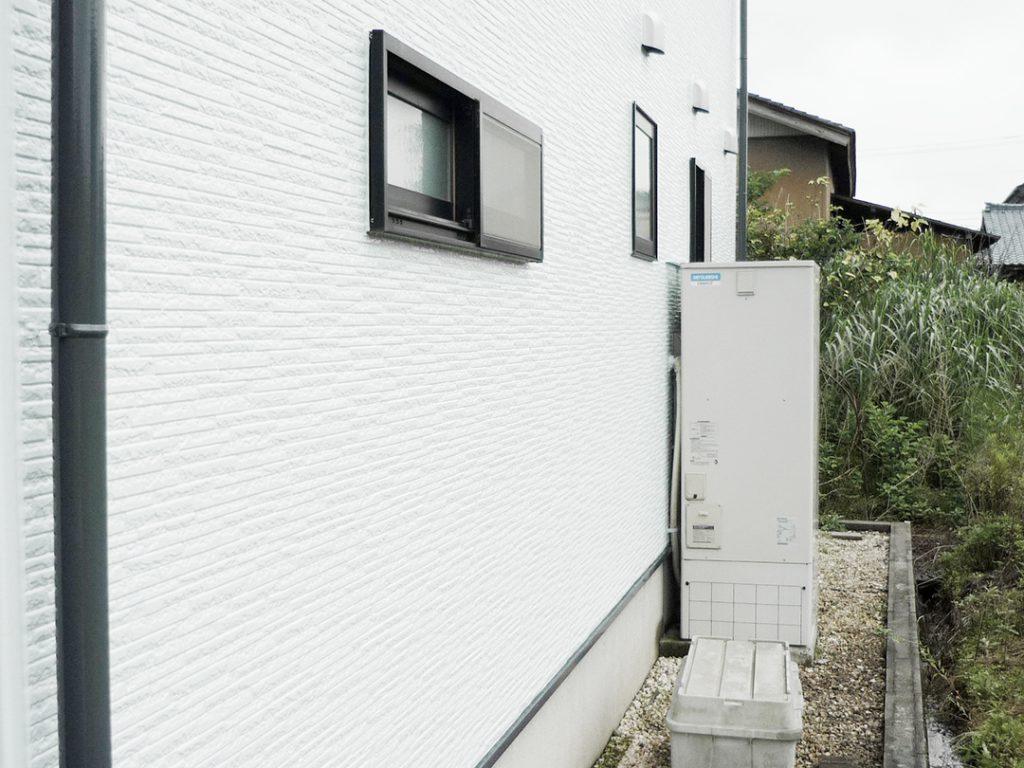 外壁リフォームが完了した家